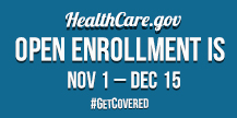 Healthcare.gov Open Enrollment
